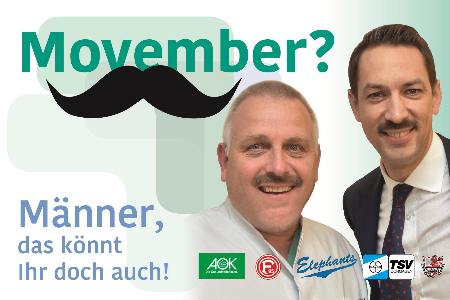 """Der """"Movember"""" ist da"""